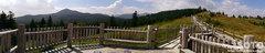 白湯山自然観察路(パノラマ)