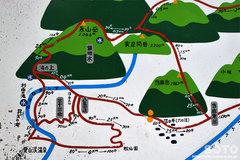 沼の平(登山経路図)