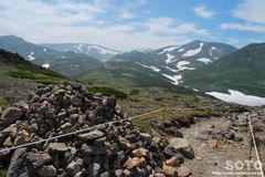 黒岳から石室へ(1)