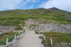 石室から黒岳へ(1)