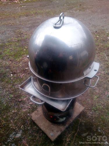お手製の蒸し器