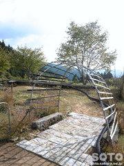 山小屋の庭(2)