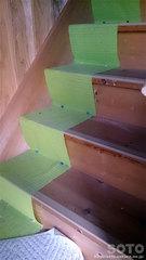 山小屋の階段(2)