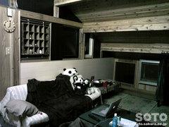 山小屋の自室(2)